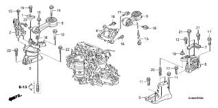 2006 honda civic motor honda store 2006 civic engine mounts 1 8l mt parts
