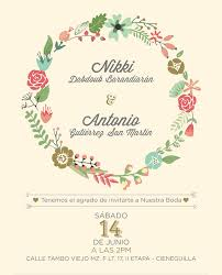 wedding invitation design diy wedding invitations floral creative market
