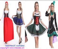 Beer Maid Wench Costume Oktoberfest Couple Gretchen German Fancy by Trade Assurance 2015 Instyles Ladies Wench Oktoberfest German