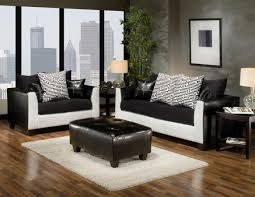 Microfiber Living Room Sets Black U0026 White Interior Design Modernity With A Touch Of