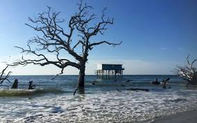 the most photographed house on stilts in all south carolina