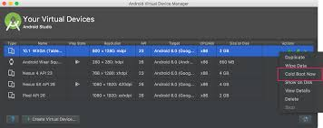 android sdk emulator run apps on the android emulator android studio