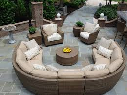 Wicker Sofa Cushions Make Your Patio Looks Stunning And Cozy With Patio Sofa