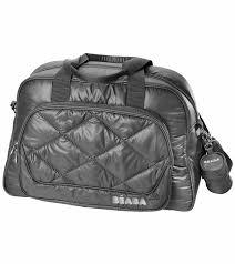 beaba new york diaper bag gray