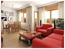 How To Decorate Living Room With Red Sofa by 28 Red And White Living Rooms