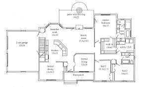ranch style open floor plans 3 bedroom ranch style floor plans fantinidesigns