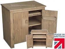 Hideaway Computer Desk Cabinet Hideaway Computer Cupboard Ebay