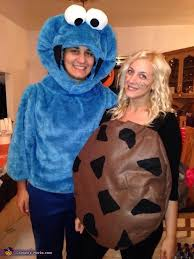 cookie u0026 cookie monster couple costume