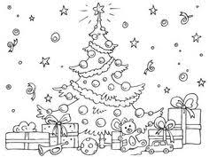 christmas tree drawing drawing christmas coloring