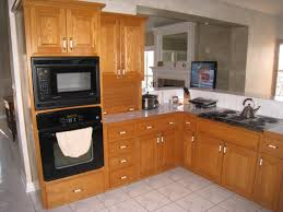 unfinished kitchen wall cabinets livingroom theater pics oak 9