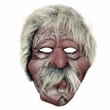 buy realistic latex rubber size face mask old man 1a201