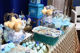 Royal Prince Decorations Royal Prince Baby Shower Dessert Table Baby Shower Ideas