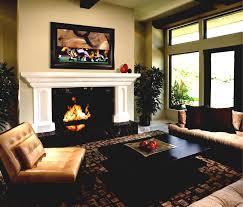 fireplace bookshelf traditional living room design interior