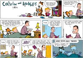 comic art calvin and hobbes