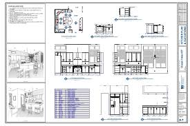 floor plan and elevation drawings kitchen plan elevation drawing