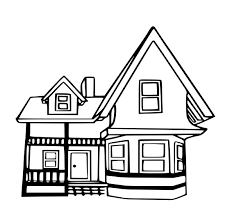 new houses coloring pages 50 4777