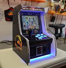 Table Top Arcade Games Tabletop Arcade Machines Half Cabinet Half Amazing Technabob