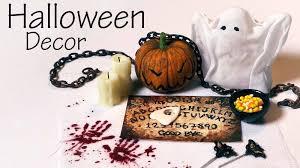 halloween decotations quick easy miniature halloween decorations u0026 sweets youtube
