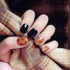 online get cheap nails tips round full cover tips false nails art