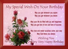 my special birthday wish free birthday wishes ecards greeting
