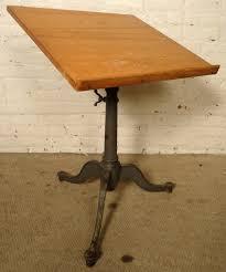 Height Adjustable Drafting Table Vintage Adjustable Drafting Table By Keuffel And Esser Co For