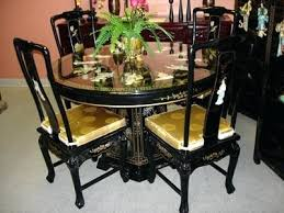 oriental dining room set chinese dining table dining table set in antique wood living room
