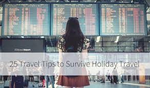 25 tips on how to survive traveling at thanksgiving