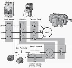 basic plc program for control of a three phase ac motor