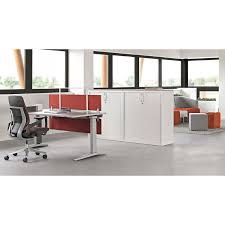 Schreibtisch 100 Cm Ology Schreibtisch Von Steelcase 100 Cm Tief 65 125 Cm Hoch