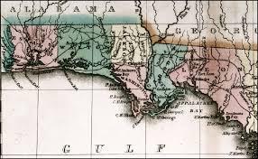 historic maps of florida map of florida panhandle 1826