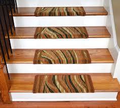 Laminate Flooring For Stairs Bullnose Dean Modern Diy Bullnose Carpet Stair Treads Jazzy Terra Cotta