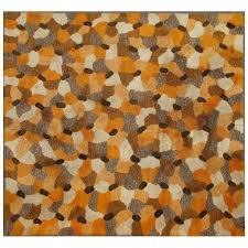 Orange Modern Rugs Mid Century Modern Rug For Sale At 1stdibs