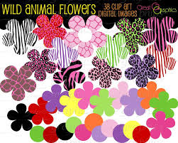 flower print cliparts free download clip art free clip art