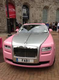 roll royce pink style birmingham live
