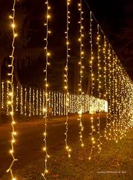 warm white coupling curtain light string 25 leds white wire