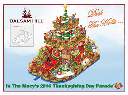 deck the halls balsam hill is set to debut a new float in the