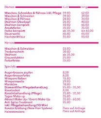 Hochsteckfrisurenen Preise by Gd Friseure Nürnberg Egidienplatz Haare Bräute Barbier