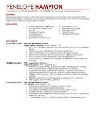 Sample Warehouse Manager Resume Warehouse Manager Resume Pdf Sample Customer Service Resume