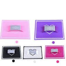 large plastic table mats nail hand pillow pad silicone plastic holder nail art equipment