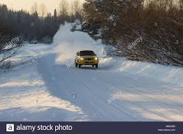 barda russia january 8 2017 stage 2 rally cup of russia in