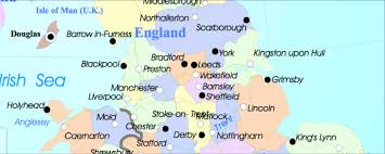 York England Map Download Map Uk Midlands Major Tourist Attractions Maps