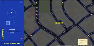 Maps Goole Google Maps In Der Pacman Version Gwb