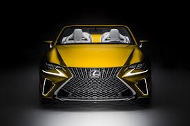 lexus rc yellow lexus lf c2 concept previews a rc convertible autotribute
