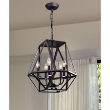 Chandelier Metal Renate Metal Chandelier Free Shipping Today Overstock