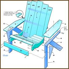 Adirondack Chairs Blueprints How To Build Simple Adirondack Chair Simple Adirondack Chair
