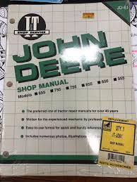 100 john deere 755 repair and technical manual massey