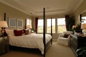 nice elegant design of the decorating ideas for master bedroom