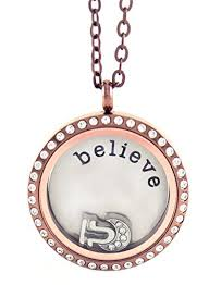 floating locket necklace chains images Stainless steel floating locket necklace with choice jpg