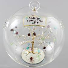 birthstone ornament family gift birthstone ornament family ornament personalized