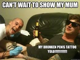 Funny Penis Memes - penis tattoo memes quickmeme